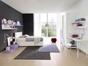 chambre lilas et gris ameublement chambre ado en 95 idées pour filles et garçons
