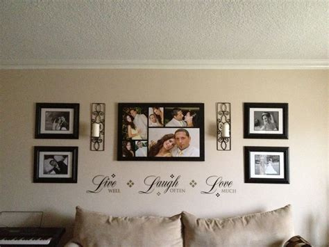 Living Room Decorating Ideas Picture Frames by How To Create A Dramatic Photo Wall Display With Family Photos