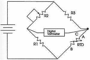 electrical circuits for rtds With above fig 2 a wiring diagram and a ladder diagram of a threewire