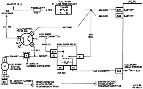 Wire Diagram 95 Buick Century by Location Of Fuel Relay 95 Buick Century Wagon