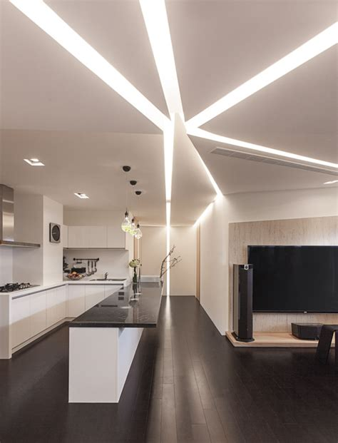 interior lighting design for homes decorations beautiful ceiling lighting setup with contemporary style design in modern