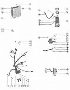 Mercury Marine 115 Hp  6 Cylinder  Starter Motor  Starter Solenoid  Rectifier  U0026 Wiring Harnes Parts