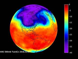 Nasa Satellite Captures Infrared View Of Frigid Air Mass As It Bears Down On The Us