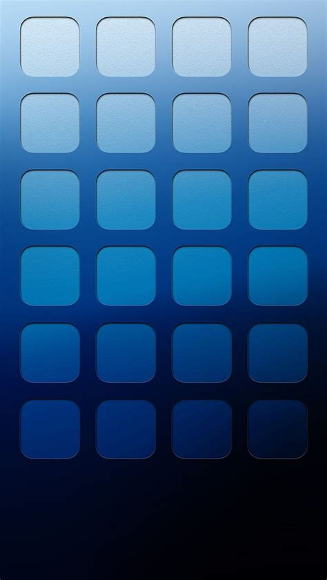 iphone 6 icons tap and get the free app shelves icons ombre simple blue