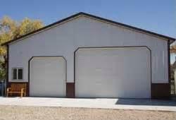 custom pole barn garages kits hansen pole buildings With 40x50 garage kits