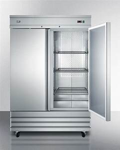 Summit Scrr491 54 U0026quot  Commercial All Refrigerator  Stainless