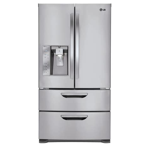 bottom drawer freezer lg lmx31985st 31 cu ft door bottom freezer