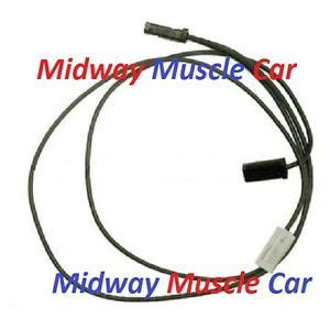 Chevy Chevelle Malibu Dual Horn Wire Wiring