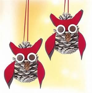 Basteln Kindern Weihnachten Tannenzapfen : kostenlose anleitung zapfeneulen basteln ~ Whattoseeinmadrid.com Haus und Dekorationen