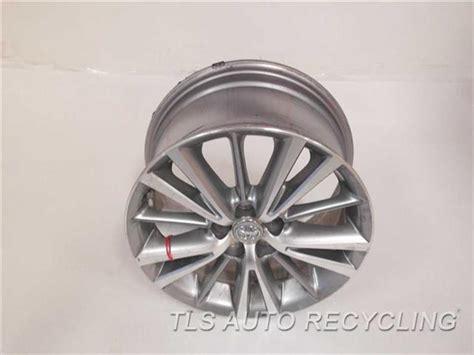 2014 toyota corolla wheel 16x6 5 alloy 15 spoke wheel