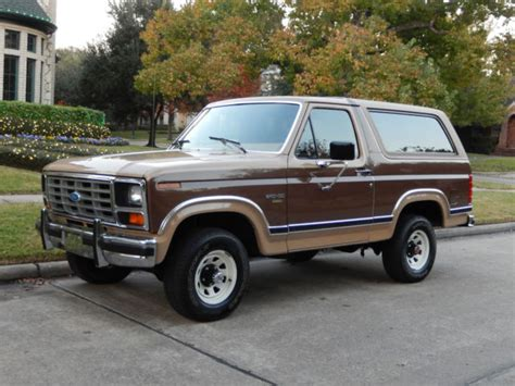 car owners manuals for sale 1984 ford bronco engine control 1984 ford bronco xlt 4x4 nicest 84 bronco in the world 22k original miles ac for sale