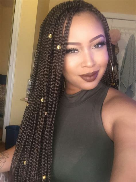 burgundy box braids ideas  pinterest