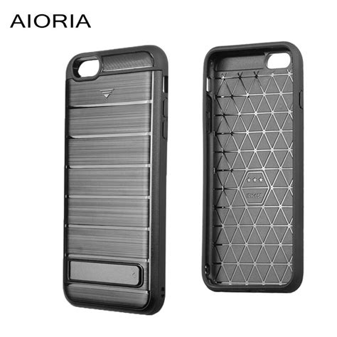 Or possibly other credit card size items. AIORIA Shockproof case for iPhone 6 6S Plus With Stand support and credit card slot Brushed ...