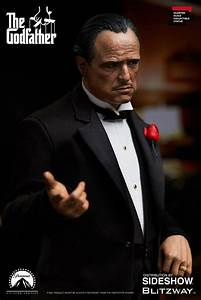 The Godfather Vito Corleone Statue by Blitzway   Sideshow ...