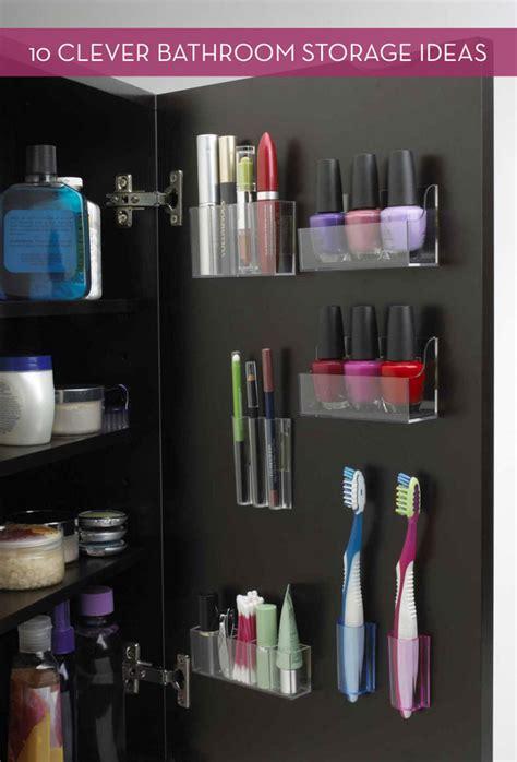 clever bathroom storage ideas 10 clever bathroom storage and organization ideas