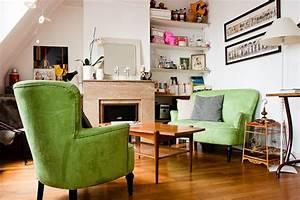 Objet Vintage Deco : un coin salon vintage un petit appart 39 rempli d 39 objets ~ Teatrodelosmanantiales.com Idées de Décoration