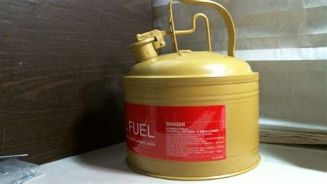 Protectoseal 4614cy Safety Diesel Fuel Can 3 Gallon Yellow