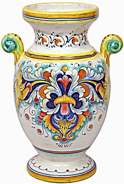 Italian Vase Ceramic Deruta Ceramics Majolica Dishes
