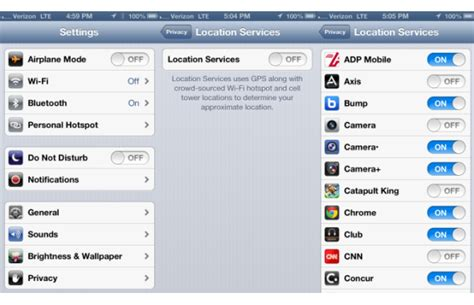 how to turn location services on iphone 5 iphone 5 battery tips 11 ways to extend iphone 5 battery
