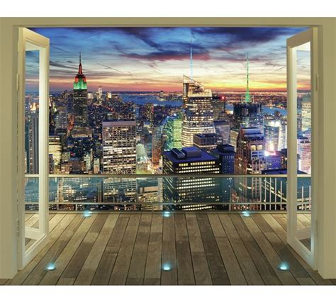buy walltastic  york city skyline wallpaper mural