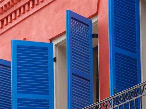 paint metal shutters hgtv