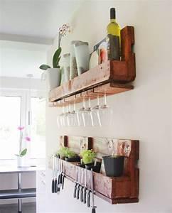 Küche Aus Europaletten : diy k chenregal aus einer euro palette deko pinterest rustikal ideen f r die k che ~ Whattoseeinmadrid.com Haus und Dekorationen