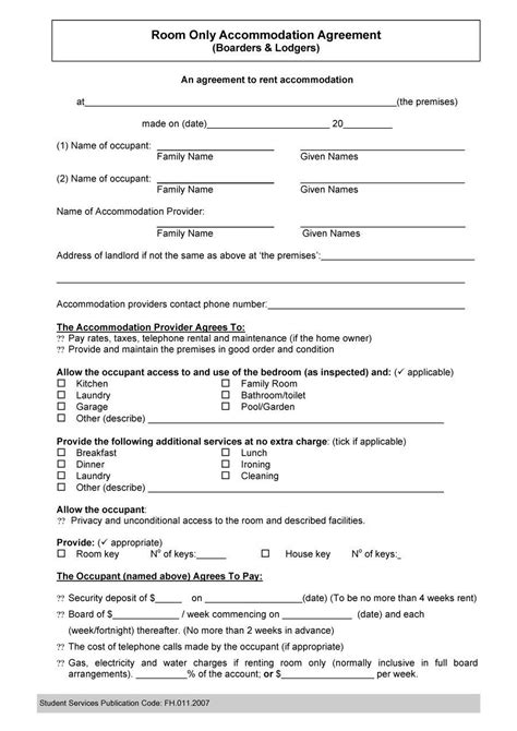 roommate agreement template roommate agreementcontract