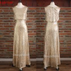gold sequin bridesmaid dress gold sequined prom dress 2015 formal dress gold bridesmaid sequin dress womens evening