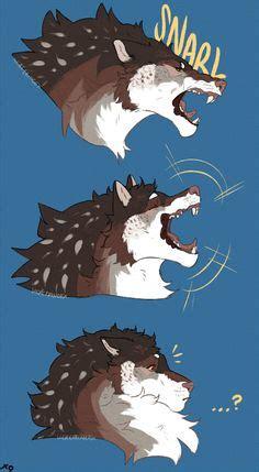 shirokuma wolf tiger cartoon     lug