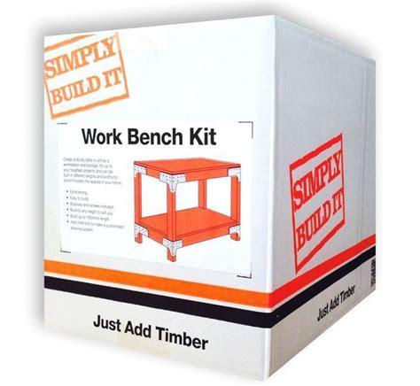 simpson strongtie heavy duty workbench kit kwbe simply