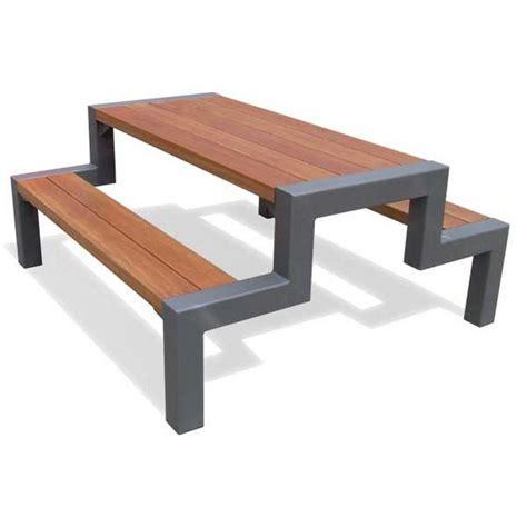 steel picnic table frame metal picnic table frames atelier pinterest metal