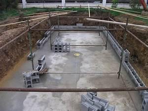 agglo bancher piscine With piscine en bloc a bancher