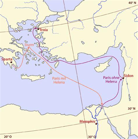 helena troia und aegypten