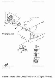 Yamaha Atv 2006 Oem Parts Diagram For Oil Pump