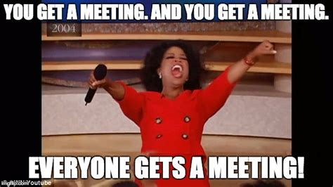 Meeting Memes - 5 tips to avoid inviting too many people to your meetings voicefox blog