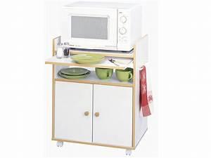Meuble Cuisine Micro Onde : meubles de cuisine meuble micro ondes origan 2 portes 1 tablette coulissante 39720 ~ Teatrodelosmanantiales.com Idées de Décoration