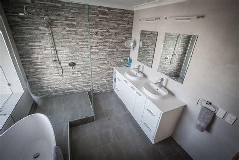 Modern Bathroom Tiles Perth by Modern Bathroom Renovation Start 2 Finish Resolutions