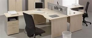 Bureau D Angle Professionnel : mobilier de bureau pas cher bureau droit bureau compact professionnel scenari ~ Teatrodelosmanantiales.com Idées de Décoration