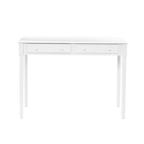 white writing desk with drawers amazon com sei 2 drawer wood writing desk crisp white