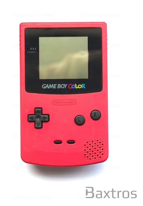 for gameboy color nintendo boy color held console baxtros