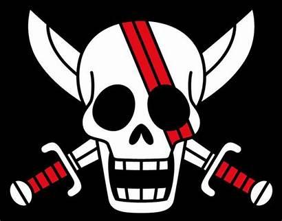 Pirates Piece Hair Flags Shank Drapeau Roux