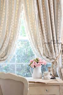 shabby chic french country curtains   home