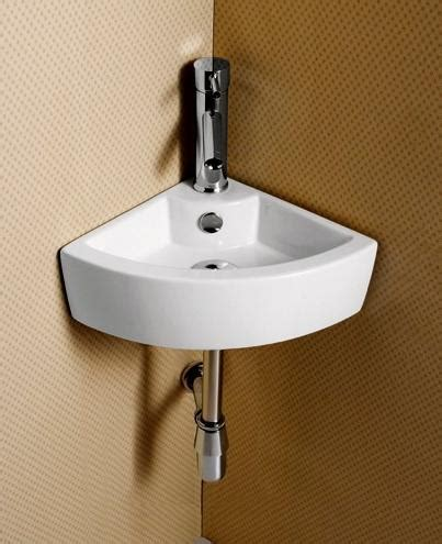 Small Wall Mounted Corner Bathroom Sink by Elite Sinks Ec9808 Porcelain Wall Mounted Corner Sink