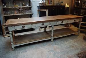 Table De Drapier : table de drapier meuble de salon contemporain ~ Teatrodelosmanantiales.com Idées de Décoration