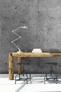 Papier Peint Style Industriel : les 25 meilleures id es concernant peinture effet beton ~ Dailycaller-alerts.com Idées de Décoration