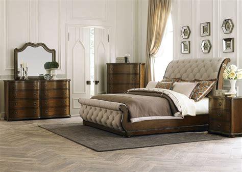 upholstered king bedroom set furniture luxury upholstered king size bed with