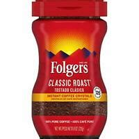 Folgers instant coffee crystals classic roast. Folgers Classic Roast Instant Coffee Crystals, 8 Ounces 25500000343 | eBay