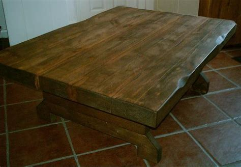 3 Inch Thick Large Chunky Rustic Coffee Table Various Sizes Camp Coffee Loaf Cake Red Eye Tallahassee Capital Circle Stove Drip Maker Death By 666 Upperlands Cheesecake Indonesia Advertising