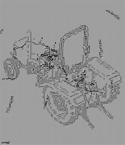 Rear Wiring Harness  5045d 5045e 5055d