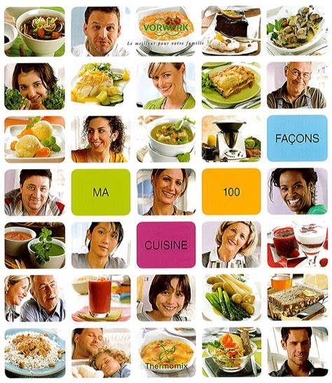 livre thermomix ma cuisine 100 fa輟ns livre ma cuisine 100 facons photo de cuisine thermomix cuisine co